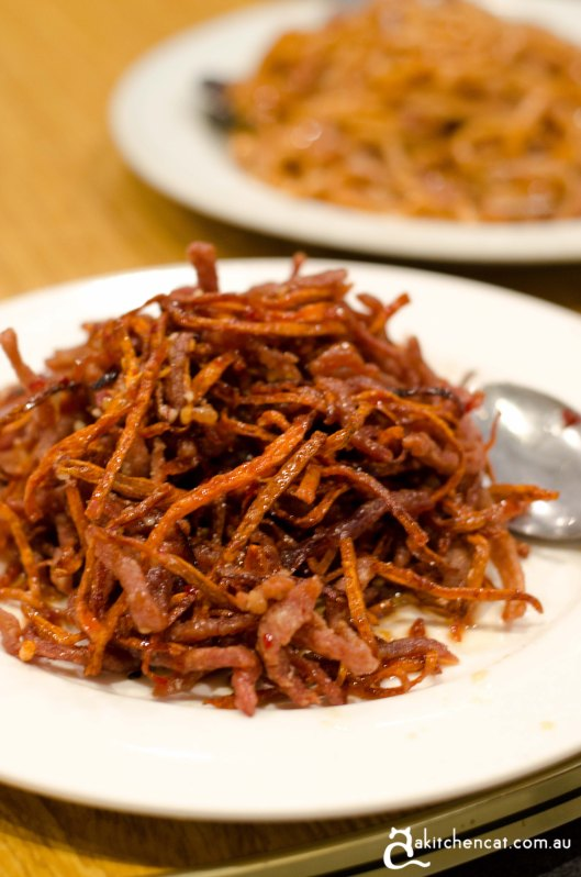 dry chilli beef